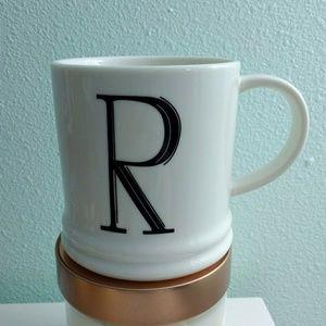 R Monogrammed Mug